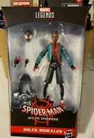 Miles Morales Into The Spider-Verse Spider-Man Marvel Legends NEW Action Figure