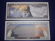 UNC.SERENITY PRAYER NOVELTY NOTE ONLY .25 SHIPPING FREE SHIP + FREE NOTES!