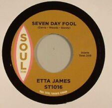 "JAMES, Etta/DOUG BANKS - Seven Day Fool/I Just Kept On Dancing - Vinyl (7"")"