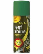 2 Baby Bio Leaf Shine Spray 200ml Long Lasting Plant Flowers Indoor Houseplants
