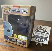 Funko Pop Avatar The Last Airbender Spirit Aang Box Lunch Earth Day Glow In hand