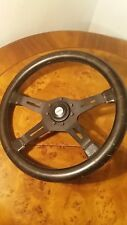 classic Fiat leather steering wheel OBA O.B.A Made in Italy 37 cm