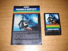 Swords & Serpents (Intellivision, 1982) and Manual