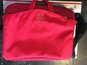 Crumpler Chester Squander Laptop Briefcase Messenger Travel Shoulder Bag Red