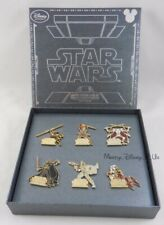 Disney D23 Expo 2015 Exclusive Star Wars Episode I -VI Boxed 6 Pin Set LE 700