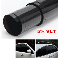 A Roll Black 5% VLT Car Truck Accessories Window Tint Film 50cmx3m Film Tinting