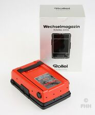 RARE ROLLEI ROLLEIFLEX 6006 MAGAZIN **RED** BRAND NEW IN BOX // UNIQUE PIECE !!