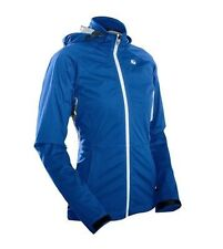 Sugoi Icon Jacket Womens Medium True Blue Cycling NEW