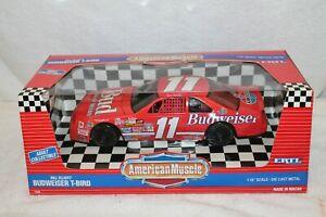 ERTL American Muscle Bill Elliott Budweiser T-Bird 1/18 Scale MIB