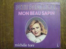 MICHELE TORR 45 TOURS FRANCE MON BEAU SAPIN