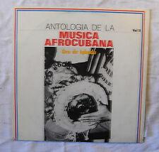 Antologia De La Musica Afrocubana  Vol II Oru de Igbodu LP