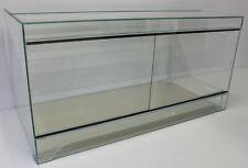 Terrarium 100x60x50 cm Glas Reptilien Schlangen Gecko