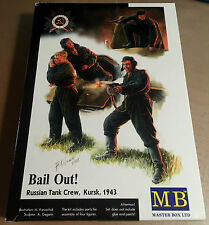 MASTER BOX MB3532 - BAIL OUT! RUSSIAN TANK CREW, KURSK 1943  1/35 - NUOVO