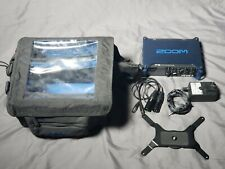 Zoom F8 Multi Track Portable Field Recorder With Protective Production Bag