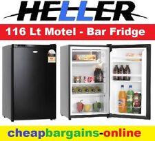 HELLER 116Lt BAR FRIDGE BLACK MOTEL FRIDGE OFFICE SHED FRIDGE THERMOSTAT BFH116B
