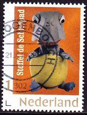 Persoonlijke postzegel Fabeltjeskrant 50 jr (Stoffel Schildpad) gestempeld 2019