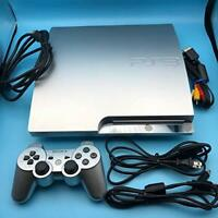 SONY PS3 PlayStation 3 160GB Satin Silver CECH-2500A SS from Japan Console