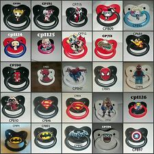 - Hero's - New Large Pacifier CUSTOM MADE 4 YOU anonymous listing #7