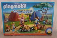 playmobil summer fun 6888 Boite Scellée Fire Camp Camping Feu