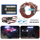 US LED Light Kit Brake+Headlight+Signal 2.4ghz PPM FM For HSP RC 1/10 Car Truck