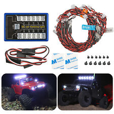 Us Led Light Kit Brake+Headlight+Signal 2.4ghz Ppm Fm For Hsp Rc 1/10 Car Truck