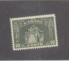 CANADA (MK2578) # 209  VF-MNH  10cts LOYALISTS STATUE /1934 /OLIVE GREEN  CV $80