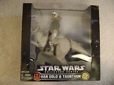 "Star Wars ""Han Solo & Tauntaun"" 12"" Collector Series Kenner 1997/New"