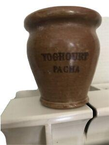 Ancien pot yaourt YOGHOURT PACHA french yogourt