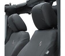 Bestop Front Seat Cover For 13-17 Wrangler 2- & 4-Door Black Denim #29283-35