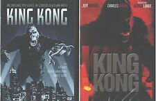 KING KONG 1- 2- 3: The Original - The Remake- Peter Jackson Version- NEW 3 DVD
