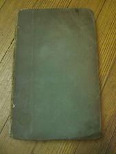 Tolondron, 1st Ed. Joseph Baretti, Signed, Pub. R. Faulder/London 1786