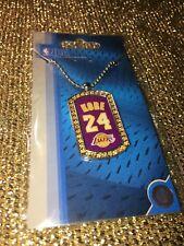 Kobe Bryant #24 LA Lakers Neckwear Diamond Tag Jewelry NEW