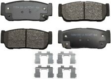 Disc Brake Pad Set-ProSolution Semi-Metallic Brake Pads Rear Monroe FX954