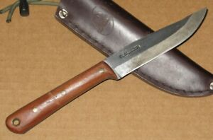 Condor bushcraft survival hunting knife & leather sheath
