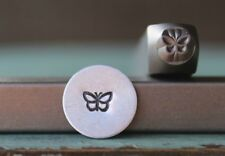 SUPPLY GUY 5mm Butterfly Metal Punch Design Stamp SGCH-145