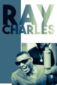 Ray Charles Green Tint Retro Music Cubicle Locker Mini Art Poster 8x12
