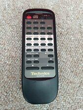 Genuine Technics EUR645275 CD Player Remote Control
