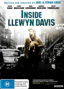 Inside Llewyn Davis -Rare Aus Stock Comedy DVD -Excellent