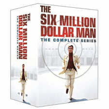 The Six Million Dollar Man: The Complete Series (DVD) *BRAND NEW*