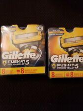GILLETTE FUSION 5 PROSHIELD REFILL 16 CARTRIDGES -Brand New