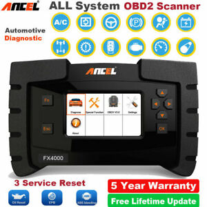 Volvo XC40 All-System OBD2 Scanner for ABS SRS SAS EPB Oil Gearbox Airbag FX4000
