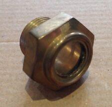 BRASS 1/2 BSP  Oil Level Sight Glass.