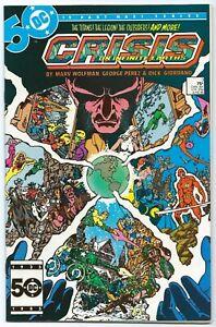 CRISIS ON INFINITE EARTHS #3 DC Jun 1985 NM+ 9.6 W TEEN TITANS App PEREZ Art B/O