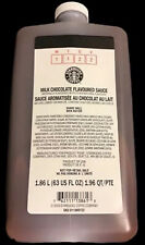 Starbucks Milk Chocolate Sauce Coffee Flavoring Syrup -in S'mores Frap w/PUMPS