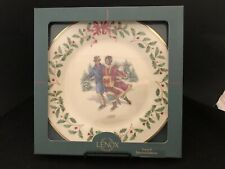 Lenox Annual Limited Edition 1998 Skater's Waltz Collector Plate Mint w/ Box