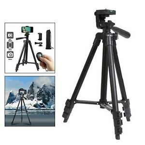"""42"""" Cell Phone Tripod Selfie Stick Bluetooth Remote Phone Holder for"""