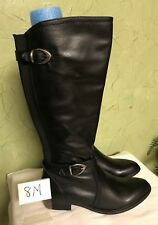 NWB Bare Traps Tommy Black knee high ladies boots size 8 M