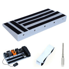 Guitar Effect Pedal Board PE Guitar Pedalboard Case + Sticking Tape Power Supply