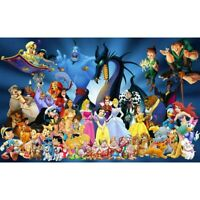 DIY 5D Full Drill Diamond Painting kit Disney Cross Stitch Embroidery Home DIY
