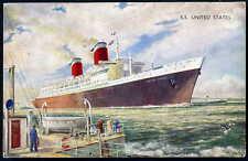 J Salmon Printed Collectable Sea Transportation Postcards